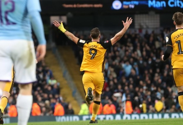 Manchester City 4 -1 Port Vale: Holders prevail after Pope enjoys his FA Cup moment