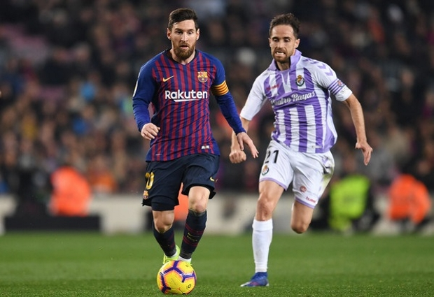 Barcelona 5 -1 Real Valladolid: Messi steals the show as Barca charge to LaLiga summit
