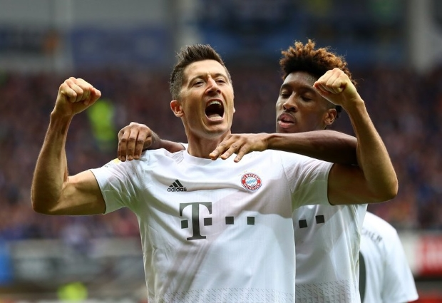 Paderborn 2 -3 Bayern Munich: Gnabry, Coutinho and Lewandowski score in thriller