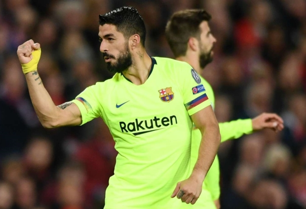 Getafe 0 -2 Barcelona: Suarez and Junior fire Valverde's men to welcome win