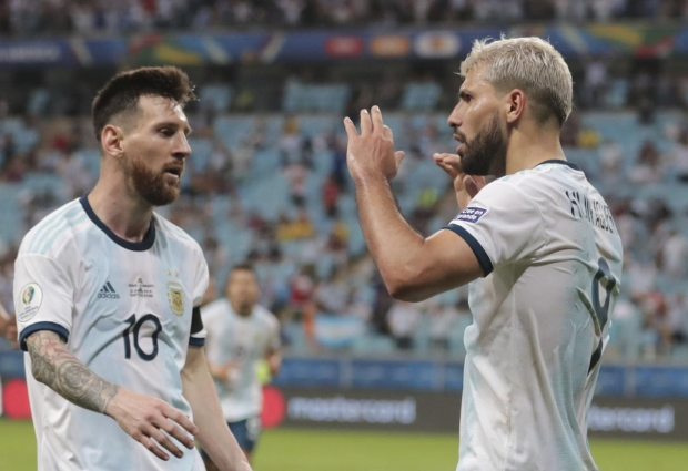 Qatar 0 -2 Argentina: Aguero on target as Scaloni's men progress