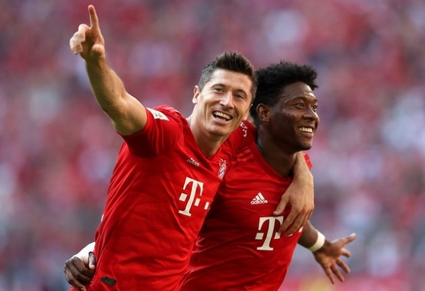 Bayern Munich 6 -1 Mainz: Alaba nets stunner as champions run riot