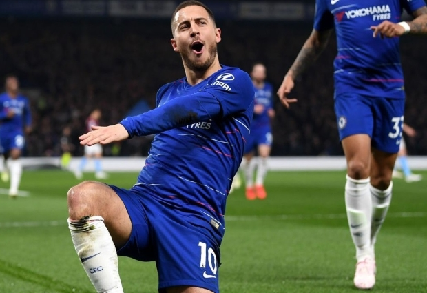Chelsea 2 -0 West Ham: Brilliant Eden Hazard boosts Blues' top-four bid