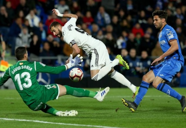 Getafe 0 -0 Real Madrid: Zidane's men held by Champions League chasers