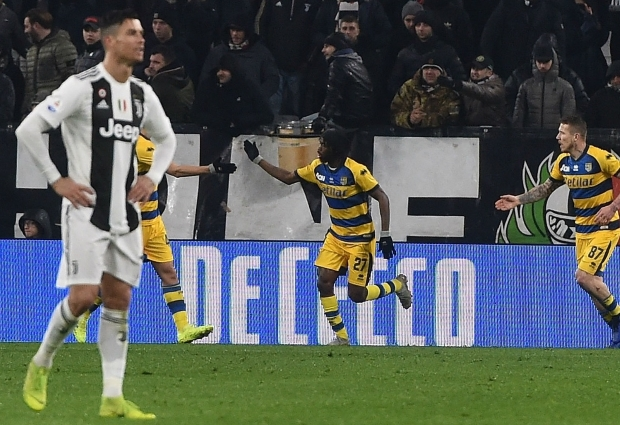 Juventus 3 -3 Parma: Gervinho snatches late draw after Ronaldo double