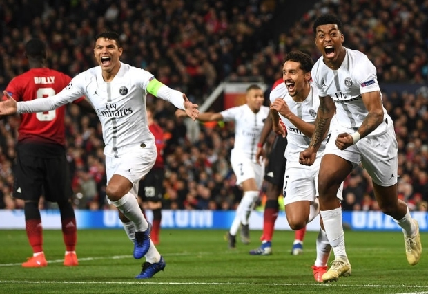 Manchester United 0 -2 Paris Saint-Germain: Pogba sent off as Solskjaer suffers first loss