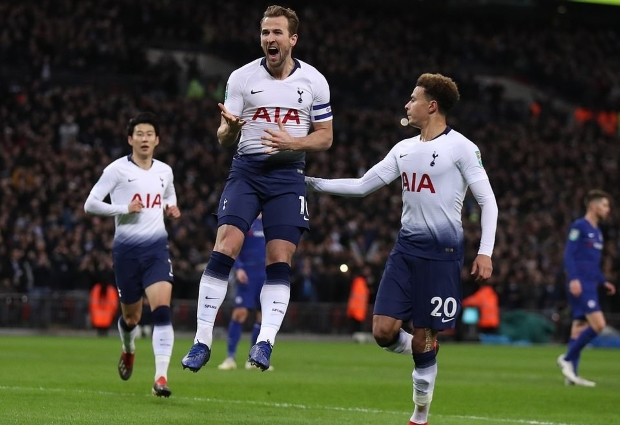 Tottenham 3 -1 Leicester City: Eriksen and Son seal victory after Vardy misses penalty