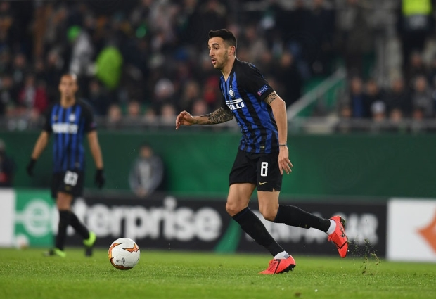Rapid Vienna 0 -1 Inter: Martinez makes up for missing Icardi