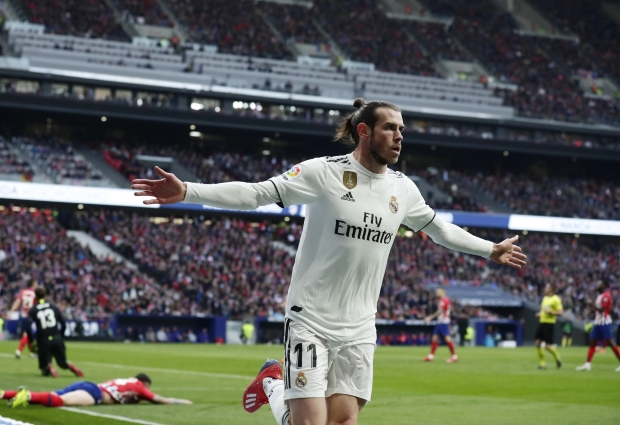 Atletico Madrid 1 -3 Real Madrid: Bale nets 100th Blancos goal to seal first Wanda win