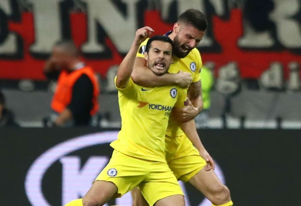 Eintracht Frankfurt 1 -1 Chelsea: Pedro on target as Sarri's men impress