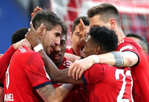 Bayern Munich 1 -0 Hertha Berlin: Javi Martinez sends champions level at top