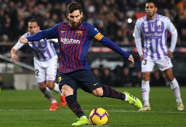 Barcelona 1 -0 Real Valladolid: Hit and miss as Lionel Messi gets job done