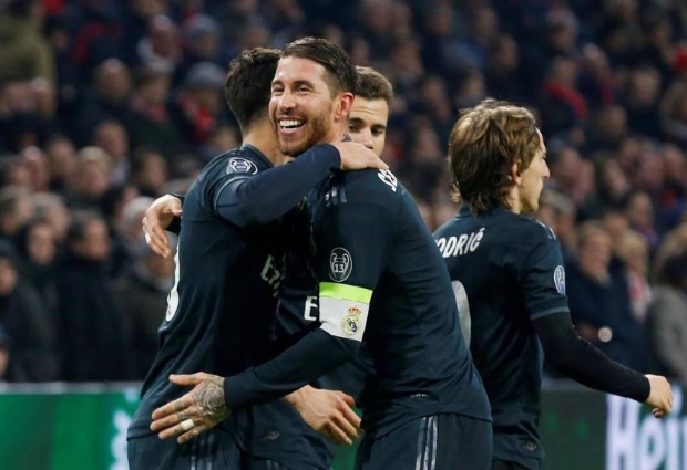 Ajax 1 -2 Real Madrid: Asensio strikes late after VAR controversy