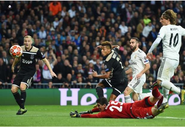 Real Madrid 1 -4 Ajax Three-year reign ends as holders are humbled