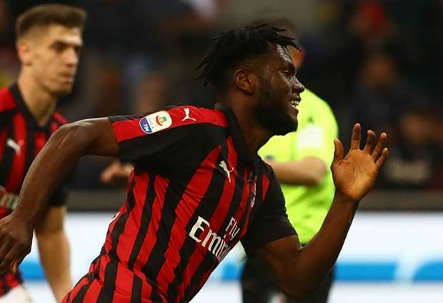 AC Milan 1 -0 Lazio: Franck Kessie on the spot to get Rossoneri back on track
