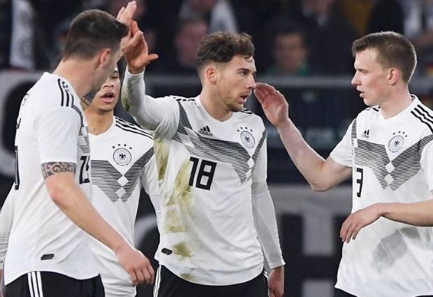 Germany 1 -1 Serbia: Goretzka salvages draw for Low's new-look side