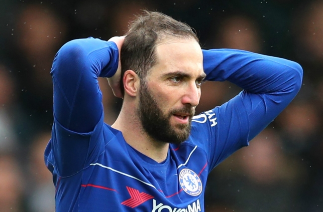 Gonzalo Higuain needs to start scoring fast or Chelsea can kiss goodbye to top four