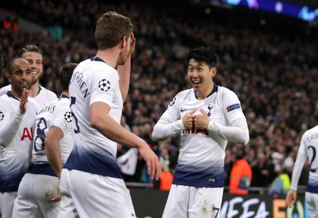 Tottenham 1 -0 Manchester City: Son snatches first-leg lead after Aguero misses penalty