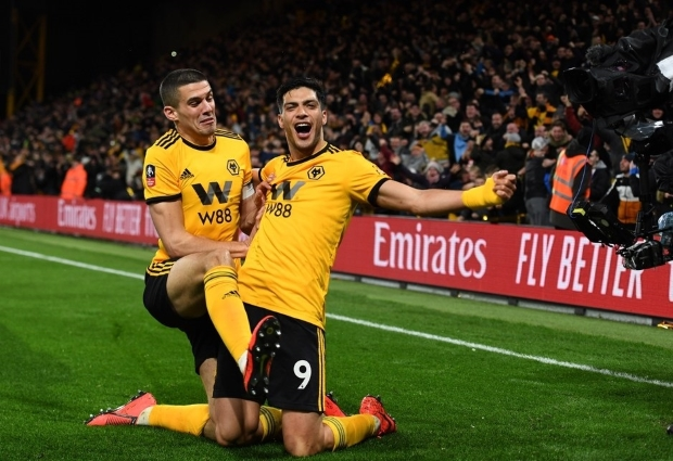 Wolves 2 -1 Manchester United: Jimenez and Jota seal last-four spot