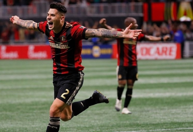 Atlanta United picks up lopsided win over Red Bulls to open up conference final clash
