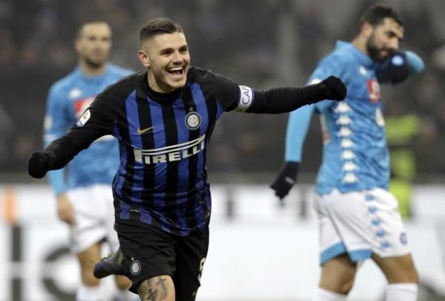 Inter Milan 1 -0 Napoli: Substitute Martinez snatches late victory