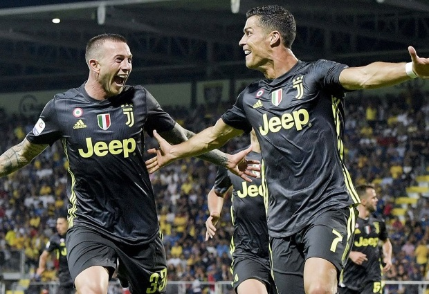 Frosinone 0 -2 Juventus : Ronaldo redeemed as champions extend perfect start