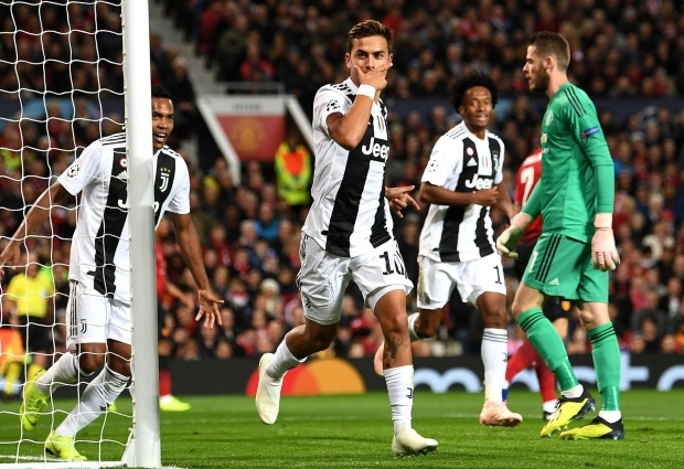 Manchester United 0 -1 Juventus: Dybala downs Mourinho's men on Ronaldo's return