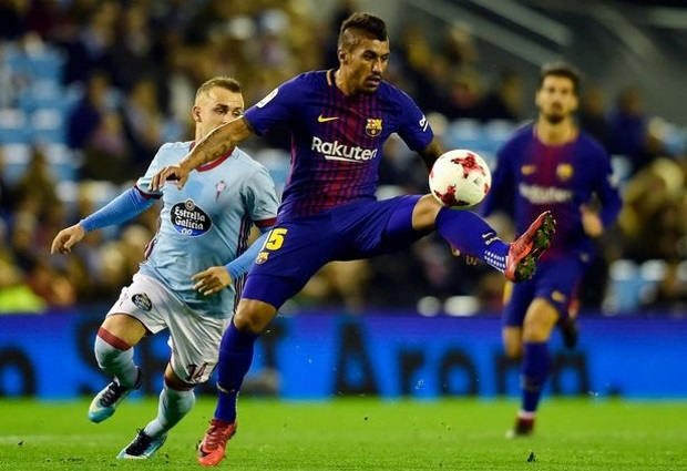 Celta Vigo 1 -1 Barcelona: Arnaiz finds the net as much-changed visitors are held