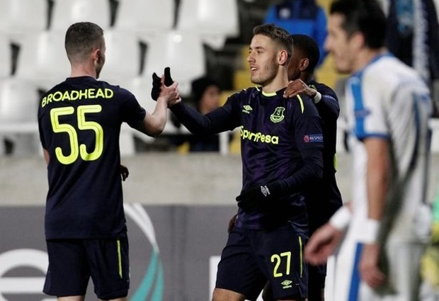 Apollon Limassol 0 -3 Everton: Ademola Lookman scores twice to finish woeful Europa League campaign on a high