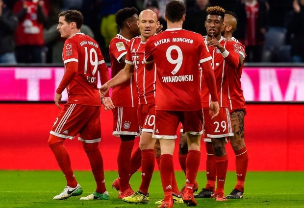 Bayern Munich 5 -2 Hoffenheim: Robert Lewandowski and Kingsley Coman on target as Bayern storm back from two goals down