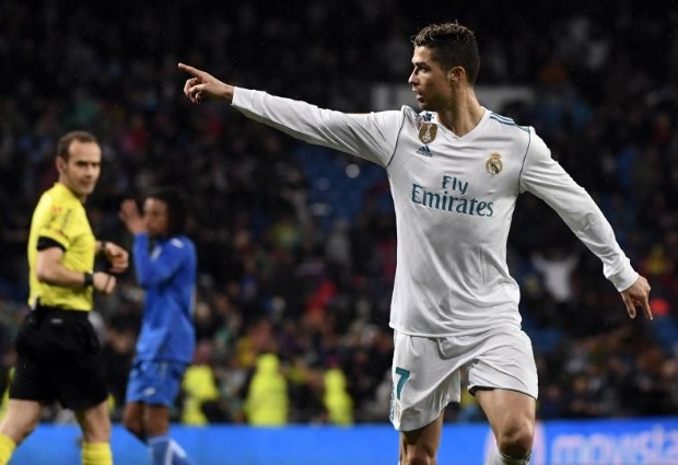 Real Madrid 3 -1 Getafe: Two-goal Ronaldo reaches 300 mark in LaLiga