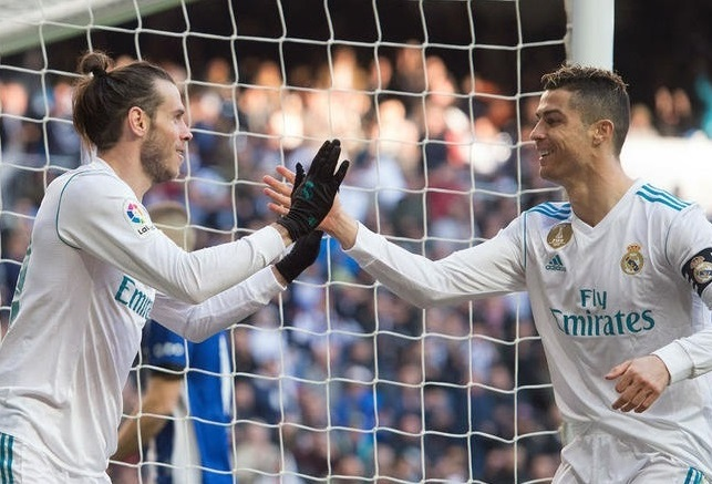 Real Madrid 4 -0 Alaves: Ronaldo at the double as 'BBC' delight