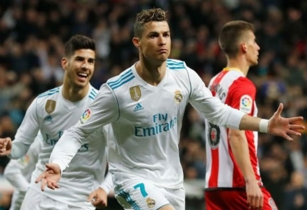 Real Madrid 6 -3 Girona: Four-goal Ronaldo continues hot streak with 50th career hat-trick
