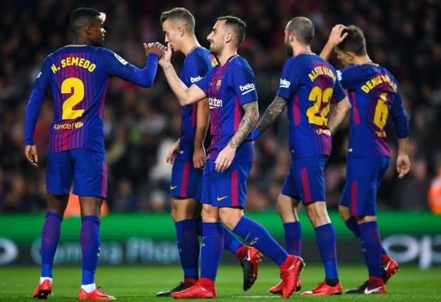 Barcelona 4 -0 Deportivo La Coruna: Luis Suarez and Tottenham flop Paulinho grab braces for La Liga leaders