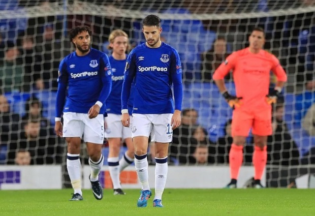 Everton 1 -5 Atalanta: Goodison Park fans stay away in thousands as Europa League disaster continues