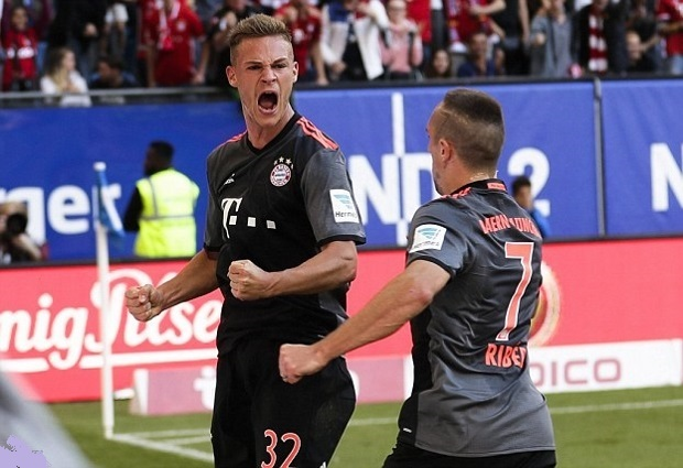 Eintracht Frankfurt 0-1 Bayern Munich : Vidal Goal Gives Bayern Munich Narrow Win to Extend Lead at the Top