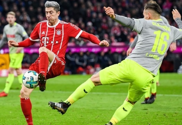 Bayern Munich 1-0 Cologne: Lewandowski Strike Sends Bayern Nine Points Clear