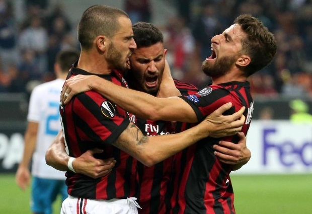 AC Milan 3 -2 Rijeka: Teenage striker Patrick Cutrone's 94th-minute winner seals dramatic victory at San Siro