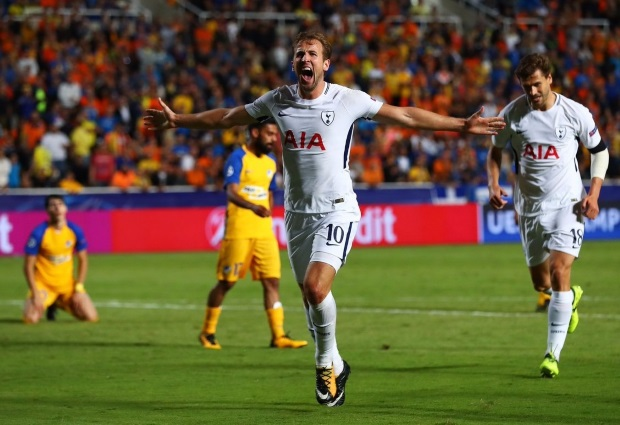 APOEL 0 -3 Tottenham: Harry Kane 'better than Ronaldo' after he scores perfect hat-trick to maintain dream start in Europe
