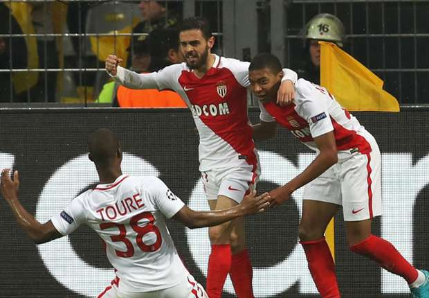 Borussia Dortmund 2 -3 Monaco: Mbappe stars as rearranged game produces thriller