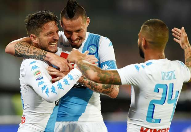 Napoli 4 -1 Fiorentina: Mertens brace paves the way for new record points tally