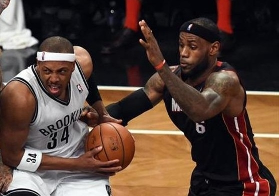Nets fight back, hand Heat first loss in 2014 NBA playoffs