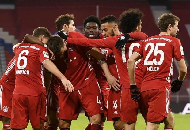 Bayern Munich 5-2 Mainz: Flick's comeback kings strike again