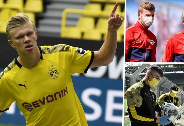 Borussia Dortmund 4 -0 Schalke: Erling Haaland's picks up where he left off on Bundesliga return