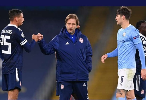 Olympiacos 0-1 Manchester City: 'Man City are not like Bayern Munich' - Olympiacos coach Martins confident of upsetting Guardiola's side