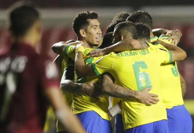 Brazil 1-0 Venezuela: Selecao stay perfect in World Cup qualifying thanks to Firmino