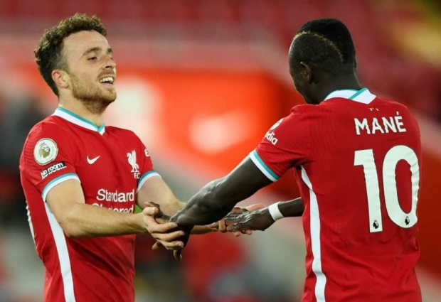 Liverpool 2 -1 Sheffield United: Diogo Jota helps champions return to winning ways