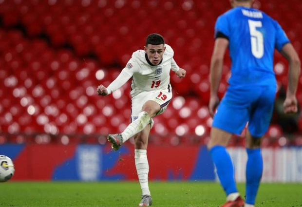 England 4-0 Iceland: Phil Foden marks Three Lions return with deadly double