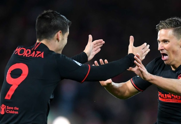 Liverpool 2-3 Atletico Madrid : Holders eliminated by Llorente's extra-time strikes