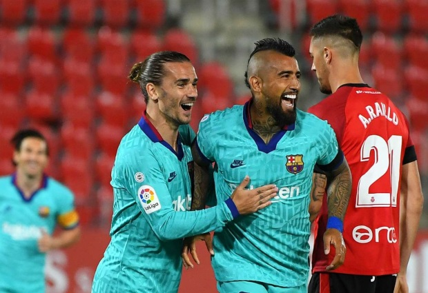 Real Mallorca 0-4 Barcelona: LaLiga leaders make winning return